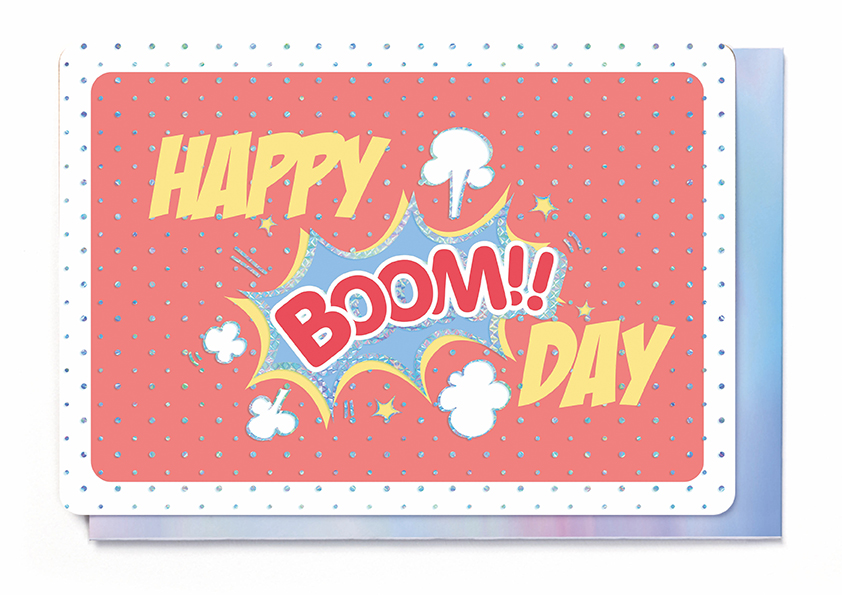 HAPPY BOOM DAY