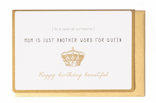 [LW2009] MOM IS JUST ANOTHER WORD FOR QUEEN