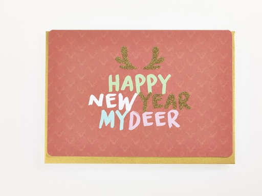 [KFF1328] HAPPY NEW YEAR MY DEER