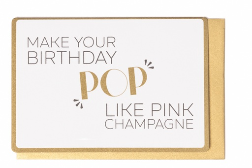[LW2061] MAKE YOUR BIRTHDAY POP LIKE PINK CHAMPAGNE