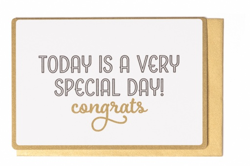 [LW2063] TODAY IS A VERY SPECIAL DAY! CONGRATS!
