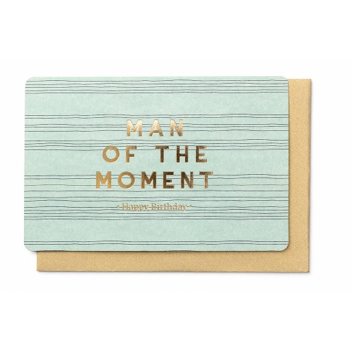 [BB3103] MAN OF THE MOMENT - HAPPY BIRTHDAY -