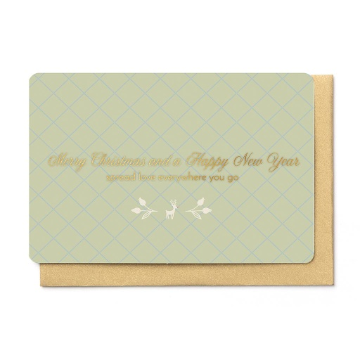 [KBB1356] MERRY CHRISTMAS AND A HAPPY NEW YEAR