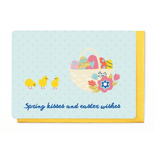 [SP3406] SPRING KISSES AND EASTER WISHES