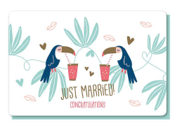 [PP6027] JUST MARRIED - CONGRATULATIONS!