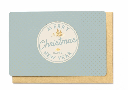 [KBB1369] MERRY CHRISTMAS & HAPPY NEW YEAR