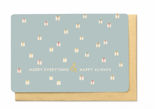 [KBB1373] MERRY EVERYTHING & HAPPY ALWAYS