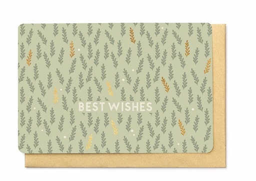 [KBB1376] BEST WISHES
