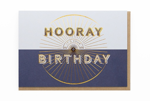 [O4116] HOORAY IT'S YOUR BIRTHDAY